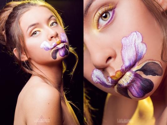 Justine Peverelly x Delphine Moll